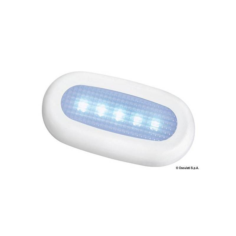 Luce di cortesia stagna 5 led bianca for Led luce bianca